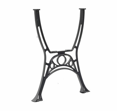 Noga nogi do stołu Aluminiowa