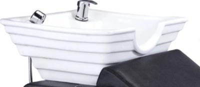 Misa Umywalka Ceramiczna Myjnia Fryzjerska Biała