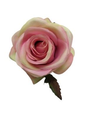 Różagłówka 10 cm różowo zielona