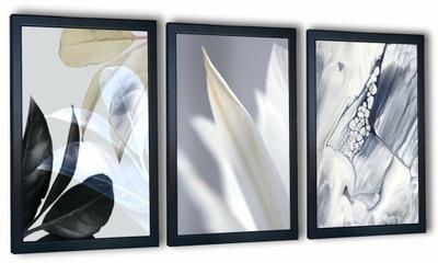 комплект 3 изображений в плечо ?????????? Белый цветок