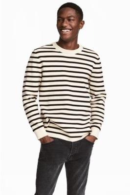 Bawełniany sweter L.O.G.G H&M S M 170 D27