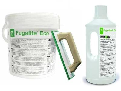 Затирка Fugalite Eco 3кг + Раствор Wash
