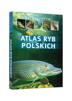 ATLAS RYB POLSKICH 140 gatunków TW Wziątek SBM