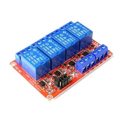 Przekaźnik 4 kanałowy 5V 10A HL/LL 4CH
