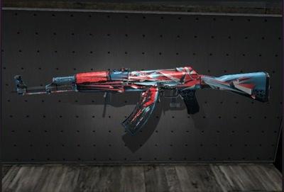 AK-47 SEDNO ZAMIESZANIA POINT DISSARAY CS GO skin