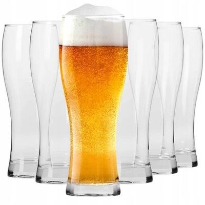 KROSNO szklanki piwa Chill Collection 500ml 6szt