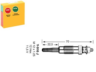СВЕЧА НАКАЛА MERCEDES E 300 TURBO-D 4-MATIC (124.