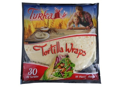 Тортилья пшеничная Турка 30 см 18 штук