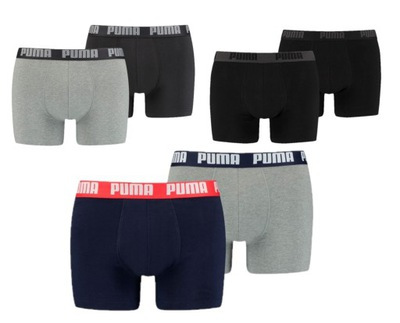 Zestaw bokserki Puma męskie 3 x 2-pack r. M