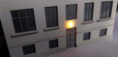 H0 - Lampa ścienna LED 1:87 MODEL w skali v2