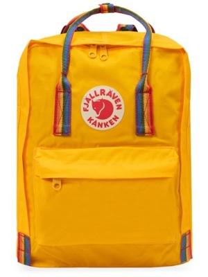 Plecak Kanken Rainbow Warm Yellow F23620-141-907