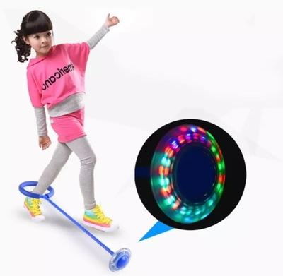 Hula hop na nogę skipper skakanka dla dzieci LED