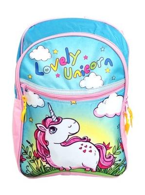 Plecak szkolny jednorożec HIT