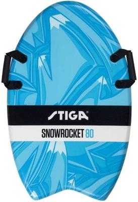 Stiga deska Snow Rocket Graffiti 80 niebieska