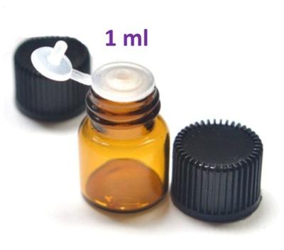 Buteleczka szklana fiolka próbka 1 ml