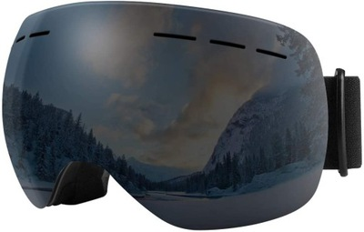 Gogle narciarskie BFULL 100% UV400 z filtrem UV