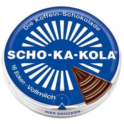 SCHO-KA-KOLA CZEKOLADA mleczna z kofeiną 100 g