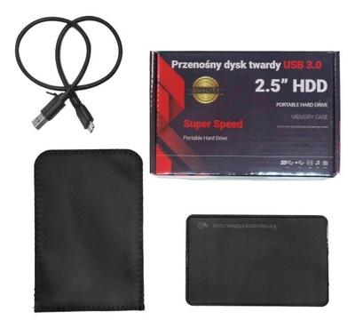 ZEWNĘTRZNY DYSK TWARDY 2.5'' WD 500GB USB 3.0