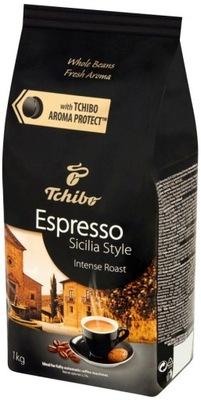 TCHIBO SICILIA STYLE kawa ziarnista 1kg