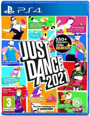 NOWA GRA JUST DANCE 2021 - Wersja na płycie PS4