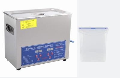 Myjka ultradźwiękowa 10 L z dodatkowym pojemnikiem