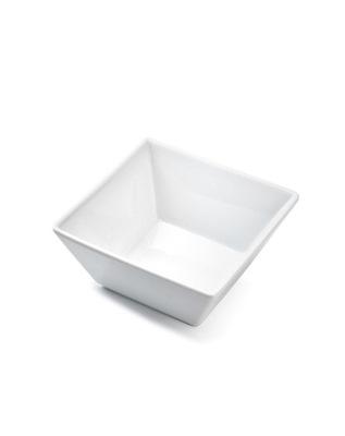 Salaterka z porcelany kwadrat 12,8 cm porcelana