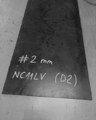 Stal NC11LV / D2 /1.2379, formatka #2x100x300 mm
