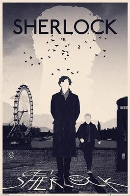 Sherlock - Londyn - plakat 61x91,5 cm