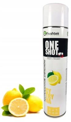 Neutralizator zapachów Freshtek ONE SHOT CYTRYNA
