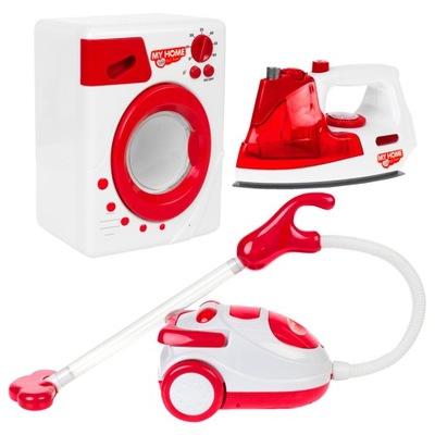 Nastaviť domáce SPOTREBIČE pre deti železa, vysávač, práčka