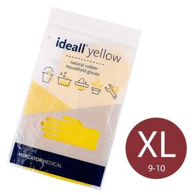перчатки Instagram желтые XL Ideall Yellow ЭКОНОМИЧЕСКИЕ