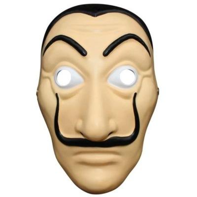 Maska halloween Dom z papieru EL PROFESOR salvador