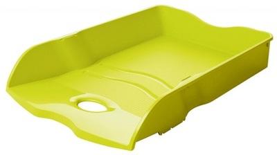 Szufladka na biurko A4/C4 zielona tacka półka