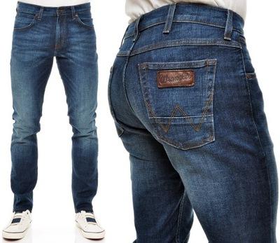 WRANGLER spodnie BLUE modern slim BOSTIN _ W29 L32