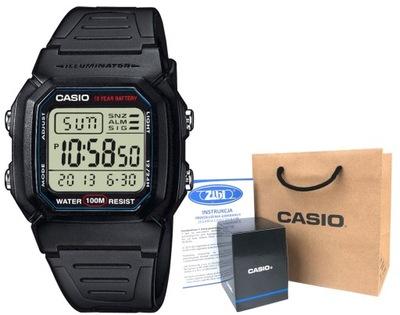 Zegarek męski Casio W-800H -1AVEF hologram