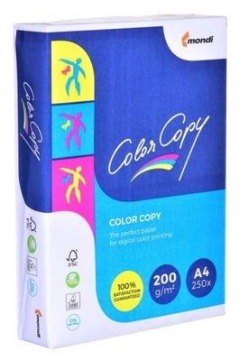 Papier XERO LASER COLOR COPY 200 g/m2 A4.