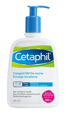 Cetaphil EM Emulsja micelarna do mycia 500 ml
