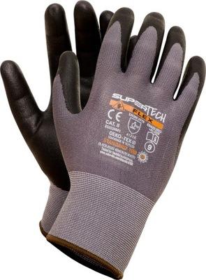 перчатки рабочие супер TECH Flex как MaxiFlex
