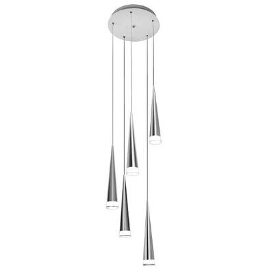 Lampa wisząca żyrandol 5 świateł Reuben 78cm P22