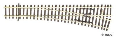 Кроссовер EW2 15 ° правая , Tillig 83331