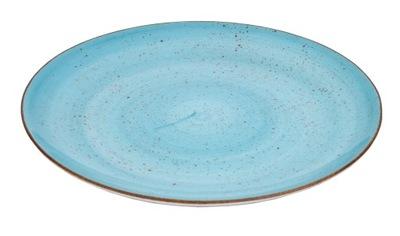 Lubiana Бирюза тарелка плитки 27см Boss 6630L/1B