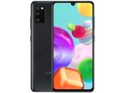 Czarny Smartfon SAMSUNG Galaxy A41 4/64GB