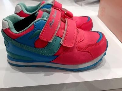 Buty sportowe na rzepy adidasy dla dzieci Fb325 27
