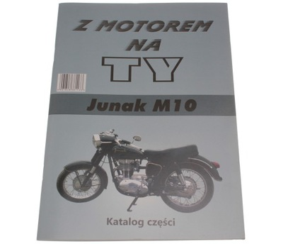 KATALOG ЗАПЧАСТИ Z MOTOREM НА TY КНИЖКА JUNAK M10