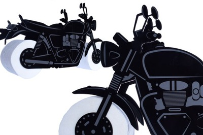 Мотоцикл motor Instagram бумага туалет гравер