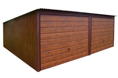 Гаражи из листового металла, 6x5 Орех гараж ??????????