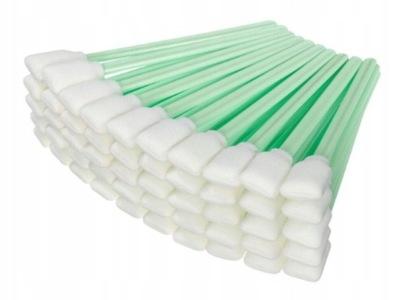 Patyczki bezpyłowe do czyszczenia głowic 100 szt.