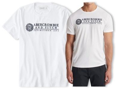 ABERCROMBIE Hollister T-shirt Koszulka Logo USA XL