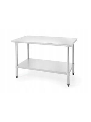 Stół roboczy ze stali nierdzewnej 1200x600x(H)850