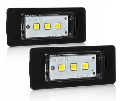 ЛАМПОЧКИ LED (СВЕТОДИОД ) НОМЕРА BMW E90 E91 E60 E61 X5 E39 3LED (СВЕТОДИОД )